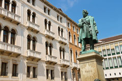 Monument of Manin in Venice, Stock Photography