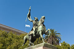Monument of Manuel Belgrano at Buenos Aires stock photography