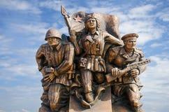 Monument marine commandos in Kerch Royalty Free Stock Photo