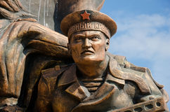Monument marine commandos in Kerch Royalty Free Stock Images