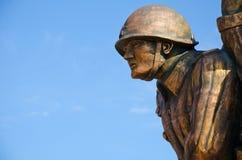 Monument marine commandos in Kerch Stock Images