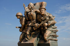 Monument marine commandos in Kerch Stock Image