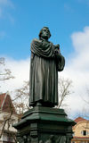 Monument of Martin Luther, Eisenach, Germany Stock Photo