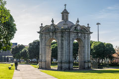 Monument in Matosinhos Royalty Free Stock Photography
