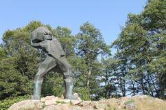 Monument Meckin Kamen. Near Krusevo Stock Images