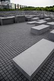 Monument in memory of the Holocaust. In Berlin Royalty Free Stock Photo