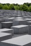 Monument in memory of the Holocaust. In Berlin Stock Photo