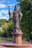 Monument of Metropolitan Eugene (Hakman) in Chernivtsi, Ukraine Stock Images