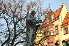 Monument of Miko�aj Kopernik Stock Photo
