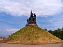 The monument of Military Glory. Cheboksary, Chuvash Republic, Russia Stock Photography