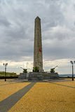 Monument of military glory Royalty Free Stock Images
