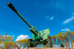 Monument of military weapons Stock Photography