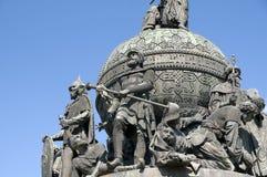 Monument Millennium of Russia Stock Image