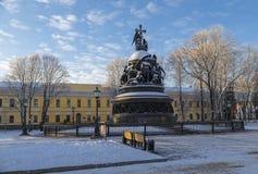 Monument Millennium of Russia Stock Photos
