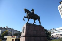 Monument Moldau Chisinau von Kotovsky Stockfotografie