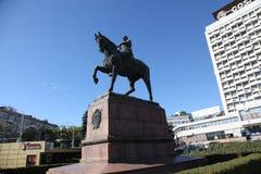 Monument Moldau Chisinau von Kotovsky Stockfoto