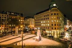 Monument mot krig och fascism i Wien Royaltyfri Fotografi