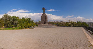 Monument Mother Armenia Royalty Free Stock Images