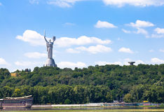 Monument of Mother of the Fatherland, Kiev Stock Images