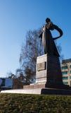 Monument mother motherland in kaliningrad Stock Photo