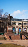 Monument mother motherland in kaliningrad Stock Images