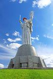 The monument Mother Motherland, Kyiv, Ukraine Royalty Free Stock Images