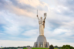 Monument of Mother Motherland. Ukraine Stock Images