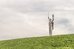 Monument of the Motherland, Kiev Royalty Free Stock Photo
