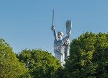 Monument of Motherland. Kiev. Ukraine stock photos