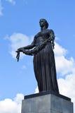 The Monument Of Motherland. Piskaryovskoye memorial cemetery in Leningrad Stock Photography