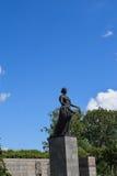 The Monument Of Motherland. Piskaryovskoye memorial cemetery in Leningrad Royalty Free Stock Photo