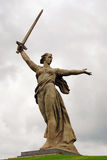 Monument Motherland in Volgograd Royalty Free Stock Image