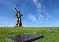 Monument Motherland in Volgograd, Russia royalty free stock photo