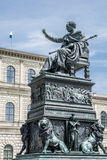 Monument in Munich Royalty Free Stock Photography