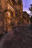 Monument nahe dem Schongebiet Virgen de la Fuensanta stockfotografie