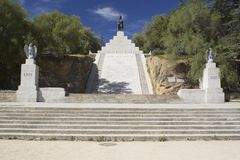 Monument of Napoleon I in Ajaccio, Corsica Stock Photo