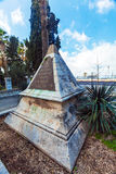 Monument for Napoleon soldiers ; near Carmelite Monastery, Royalty Free Stock Photos
