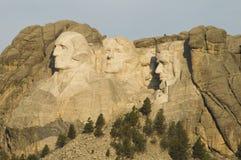 Monument national 4 de Rushmore de support Photos libres de droits