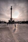 Monument national de Budapest images libres de droits