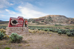 Monument national de butte fossile Photographie stock