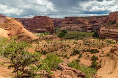 Monument national de Canyon De Chelly Photographie stock