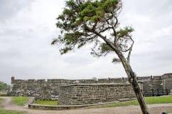 Monument national de Castillo de San Marcos Images stock