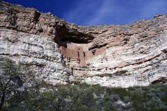 Monument national de château de Montezuma image stock