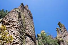 Monument national de Chiricahua Photos stock