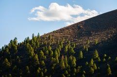 Monument national de cratère de coucher du soleil Photos libres de droits