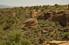 Monument national de Hovenweep Photographie stock libre de droits