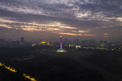 Monument national de l'Indonésie à Jakarta Images stock