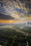 Monument national de l'Indonésie à Jakarta Image libre de droits