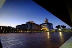 Monument national de l'Indonésie à Jakarta Photo libre de droits