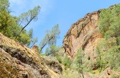 Monument national de pinacles Photographie stock libre de droits